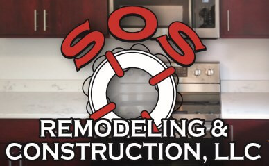 SOS Remodeling & Construction Logo